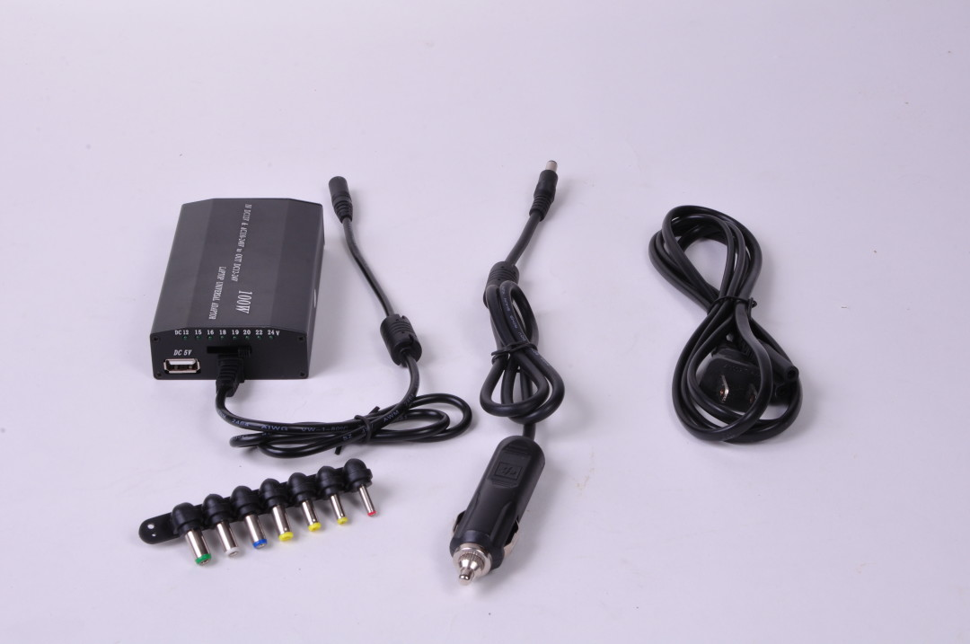100W Power Adapter w Adjustable Voltage