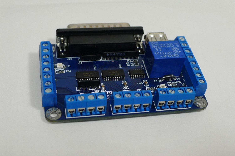 Mach3 Breakout Board 5 Axis Zen Toolworks Inc