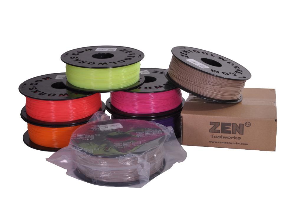 Zen Toolworks 3D Filaments PLA